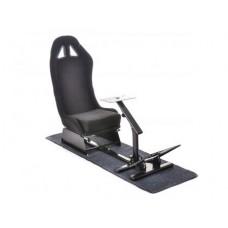 FK game seat racing simulator for racing games at PC or consoles negru